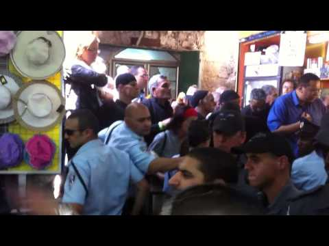 Egyptian Coptic priest attacked by Israeli police