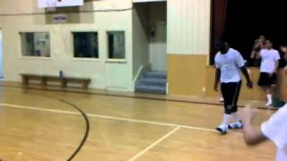 Страшен баскетболен фал
