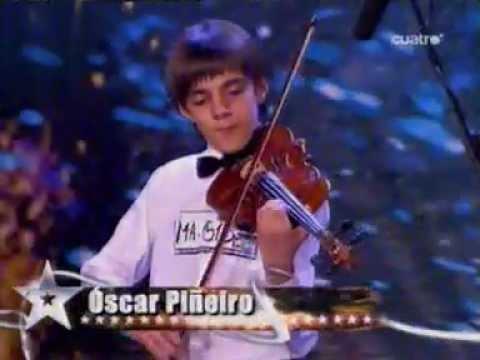 Niño Violinista del Tienes Talento Español