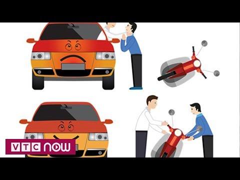 Ứng xử đẹp khi va chạm giao thông | VTC1 - Thời lượng: 39 giây.