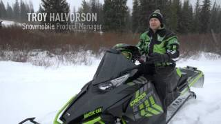 2. Arctic Cat 2017 XF CrossTrek Ride Package