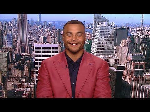 Video: Dak Prescott on Body Issue: See enough Zeke in locker room