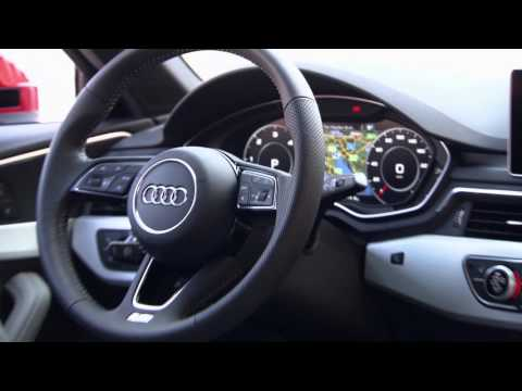 Audi A4 Sedan - Tango Red Interior Design | AutoMotoTV