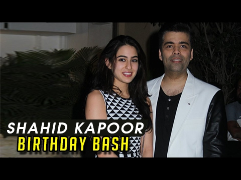 Karan Johar Begins Promoting Sara Ali Khan | Shahi