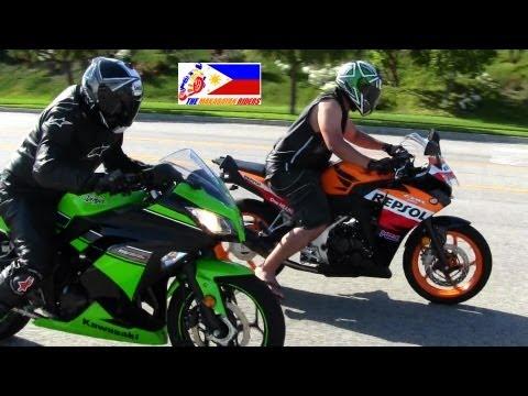 Download Video Kawasaki NINJA 300 Versus Honda CBR 250R DRAG RACE