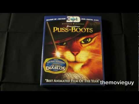 Unboxing: Puss in Boots Blu-ray 3D
