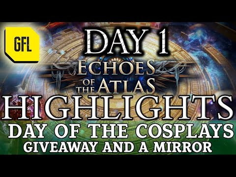 Path of Exile 3.13: RITUAL DAY #1 Highlights COSPLAYS, GIVEAWAY, A MIRROR and more...