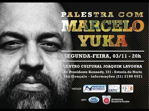 Palestra Marcelo Yuka em São Gonçalo 03/11/2014 parte 1