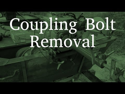Coupling Bolt Removal