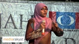 Video Siti Aishah: Satu Anwar Ditangkap, Ribuan Anwar Akan Bangkit Tumbangkan Kerajaan UMNO BN MP3, 3GP, MP4, WEBM, AVI, FLV Oktober 2018