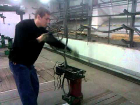 Зачаливание троса (плетение троса).3gp (видео)