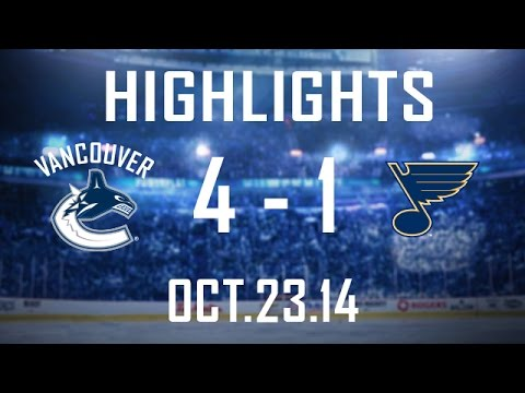 Canucks - The Canucks get back on track scoring 3 times in the 3rd. 4 different players get a goal, Nick Bonino tallies the winner and Ryan Miller plays lights out aga...