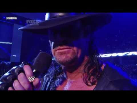WWE Smackdown 4/3/11 Undertaker Return to Smackdown (New Theme)