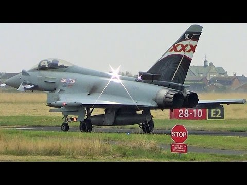Video ZK343 RAF display Team 'XXX Tailfin' Eurofighter Typhoon download in MP3, 3GP, MP4, WEBM, AVI, FLV January 2017