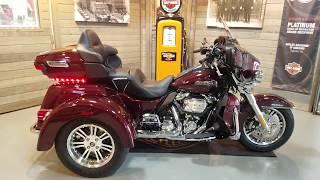 2. 2019 Harley-Davidson Tri Glide Ultra FLHTCUTG-Twisted Cherry.