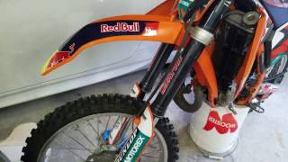 3. MY NEW 2009 KTM 105 SX REVEAL AND REVIEW