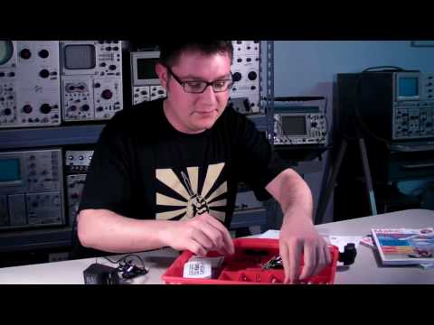 Make: Electronics Components Pack 1 Unboxing