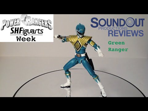 SH Figuarts Mighty Morphin Power Rangers Green Ranger Review