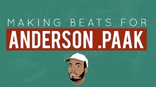 Making Beats For: Anderson .Paak | (Using Ableton Live)