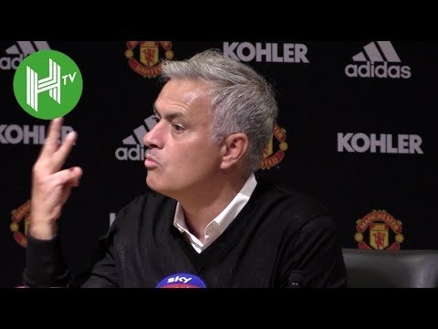Jose Mourinho: I've won more titles than the other 19 managers put together - I deserve more respect (видео)