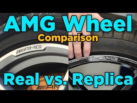 AMG Wheels: Real vs. Replica Comparison