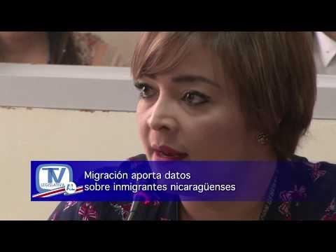 MIGRACION APORTA DATOS SOBRE INMIGRANTES NICARAGÜENSES
