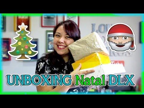 UNBOXING de NATAL DLX! ?? | Louca dos livros 2018