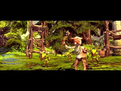 Dragon Nest: Early Kali gameplay (Lv. 8)