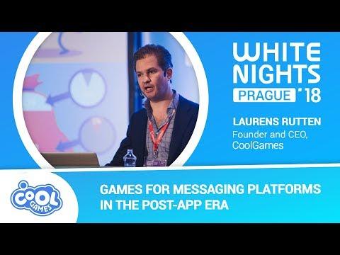 Laurens Rutten (CoolGames) - Games for Messaging Platforms in the Post-App Era