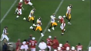 Super Bowl XLIII - James Harrison 100 yard interception return (good quality)