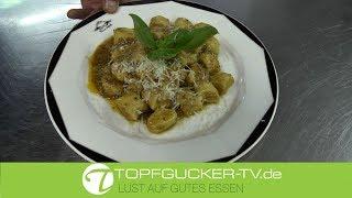 Italienische Gnocchis mit Tomatenpesto nach Sizilianischer Art