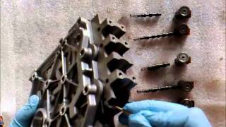 HOW TO CHECK ATF VALVE BODY FOR BROKEN SPRINGS AND REPLACE SOLENOIDS