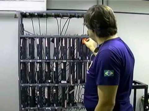 PF fecha central de TV a cabo clandestina em Nova Iguaçu - Marcus Marinho - Band