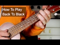 'Back To Black' Amy Winehouse Ukulele Lesson