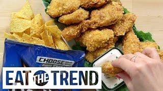 Cool Ranch Doritos Chicken Tenders Recipe | Eat the Trend by POPSUGAR Food