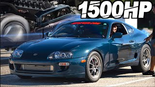 1500HP 2JZ Engine Teardown - Toyota Supra Street Build (AMAZING RESULTS After 150+ 50PSI Runs) by  That Racing Channel