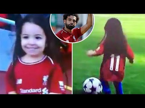Look At What Mohamed Salah's Daughter Did On The Pitch!