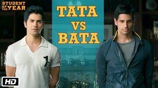 Tata vs Bata: The First Encounter - Student Of The Year - Varun Dhawan, Sidharth Malhotra