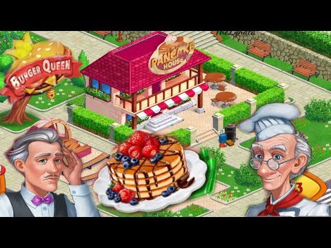 Burger Queen/ Funny Cooking Game/ Pancakes House/ Levels From 1 To 30