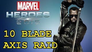 This is a highlight from my stream where we decided to take a full group of 10 people on Blade into Axis and see what happens.  Stream: http://www.twitch.tv/degentpTwitter: https://twitter.com/DegenTPBlade is a playable character in Marvel Heroes 2015 a free to play ARPG. Blade Just came out and a lot of us in this raid may or may not have even known what we were doing!!