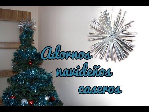 Adornos de navidad caseros videos videos relacionados con adornos de navidad caseros - Adornos de navidad caseros faciles ...