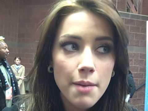 Video: Amber Heard, 'The Informers'