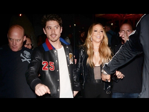 Mariah Carey Flaunts Eye-Popping Cleavage On Date Night