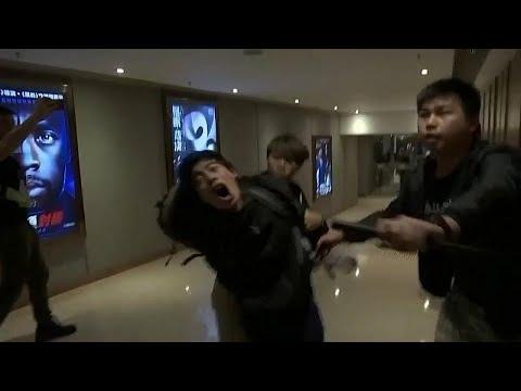 Χονγκ Κονγꨨ: Επεισόδια σε εμπορικό κέντρο