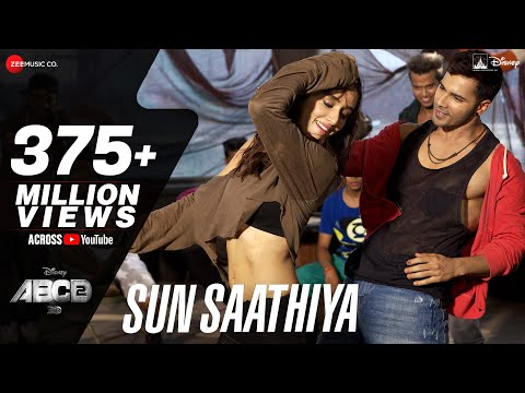 Video Sun Saathiya Full Video | Disney's ABCD 2 | Varun Dhawan Shraddha Kapoor | Sachin Jigar | love song download in MP3, 3GP, MP4, WEBM, AVI, FLV January 2017