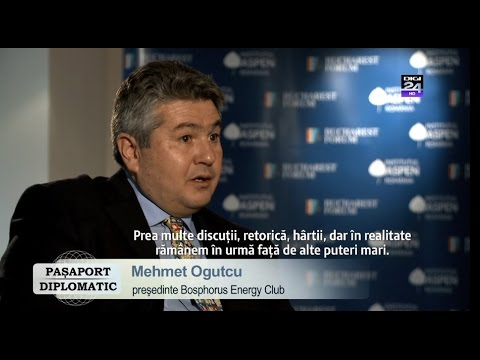 Mehmet Ogutcu, speaker Bucharest Forum 2015