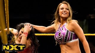 Emma vs. Santana Garrett:  WWE NXT, March 2, 2016
