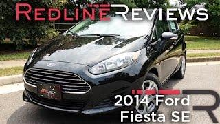 2014 Ford Fiesta SE Review, Walkaround, Exhaust,&Test Drive