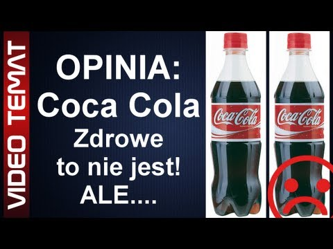 Co pijemy w Coca Coli