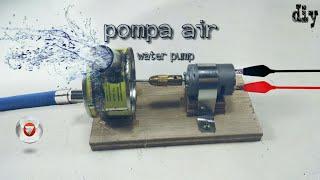 Cara membuat pompa air dari kaleng bekas v.2